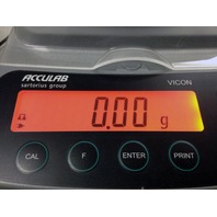 Acculab Vicon Satorius Group VIC-212 Scale Max 210 g