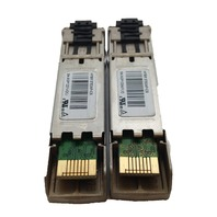 Lot of 2 Cisco GLC-FE-100FX SFP Fiber Pluggable Module 10-2077-01 Fast Ethernet