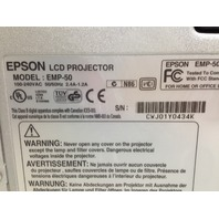 Epson PowerLite 50c EMP-50 LCD Projector 487 Hours