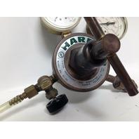 Harris 92-250 650L Compressed Gas Regulator 400/4000 PSI 2800/2800 kPa Gauges