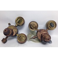 Lot of 2 Purox Union Carbide CGA-540 Type R-2049 Gas Regulator