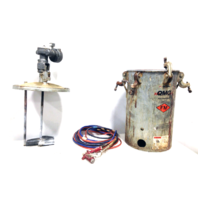 DeVilbiss QMG FM 5 Gallon Heavy Duty Paint Can Sprayer with Attachments