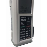 Baxter AS40A Auto Syringe INFUSION Pump + Pole Clamp