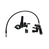 Fujinon SRD-92B Remote Servo Zoom w/CFH-1 Focus Grip w/ Canon FM-1 Focus Outlet  & Flex Cable