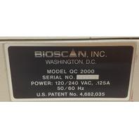 Bioscan QC-2000 Radio Activity Counter