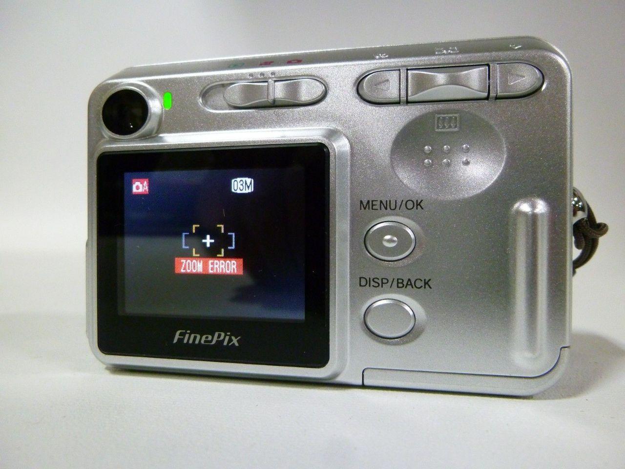 Pictures of Fujifilm Camera Repair Zoom Error