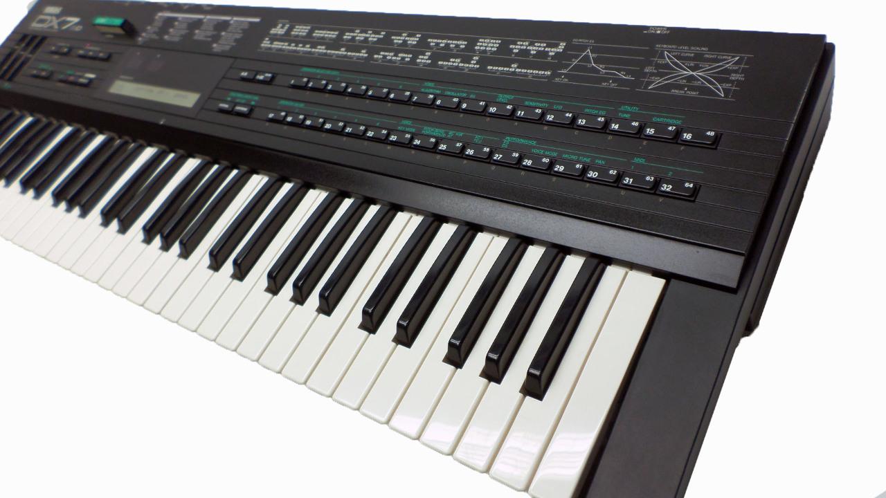Yamaha dx7 ii d synthesizer keyboard with hard case dx7s for Yamaha keyboard synthesizer