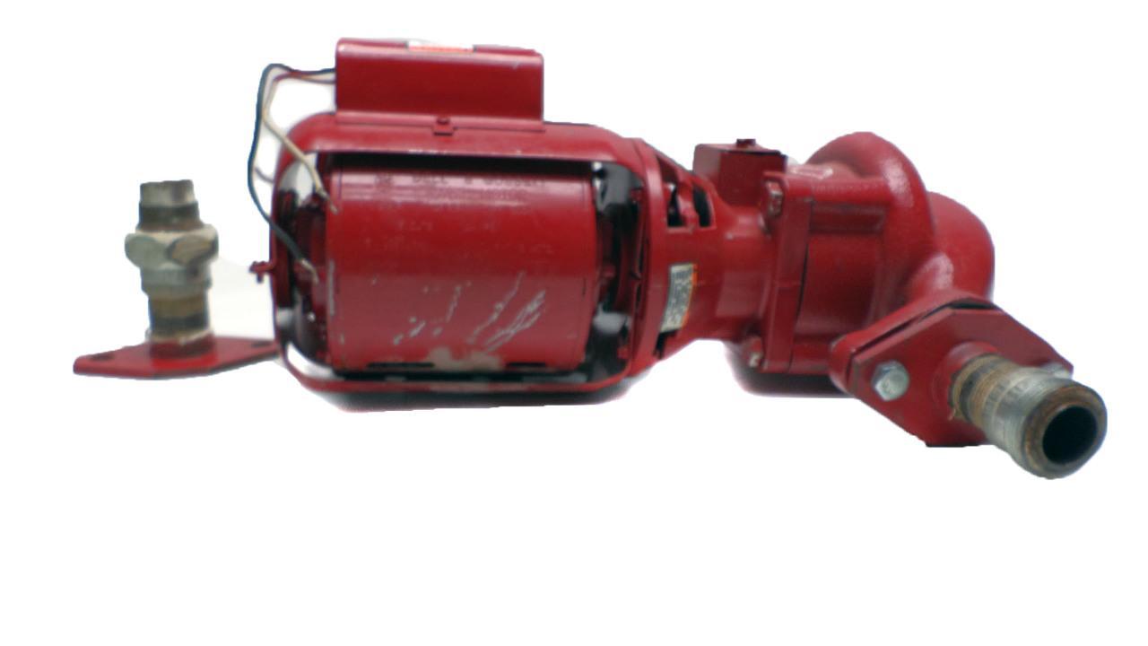 Bell gossett 1 6 hp motor circulating pump 115 volts for Bell gossett motors