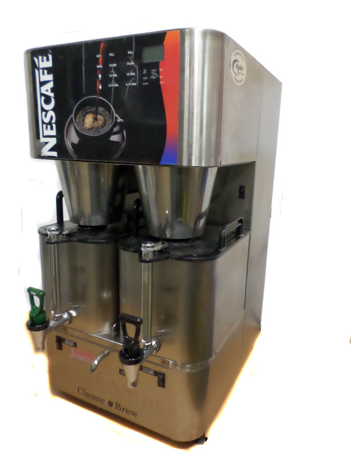 Nescafe Scanomat Classic Brew Industrial Commercial Coffee Maker 210- 630 cups eBay