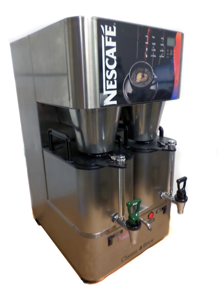 nescafe scanomat classic brew industrial commercial coffee maker 210 630 cups