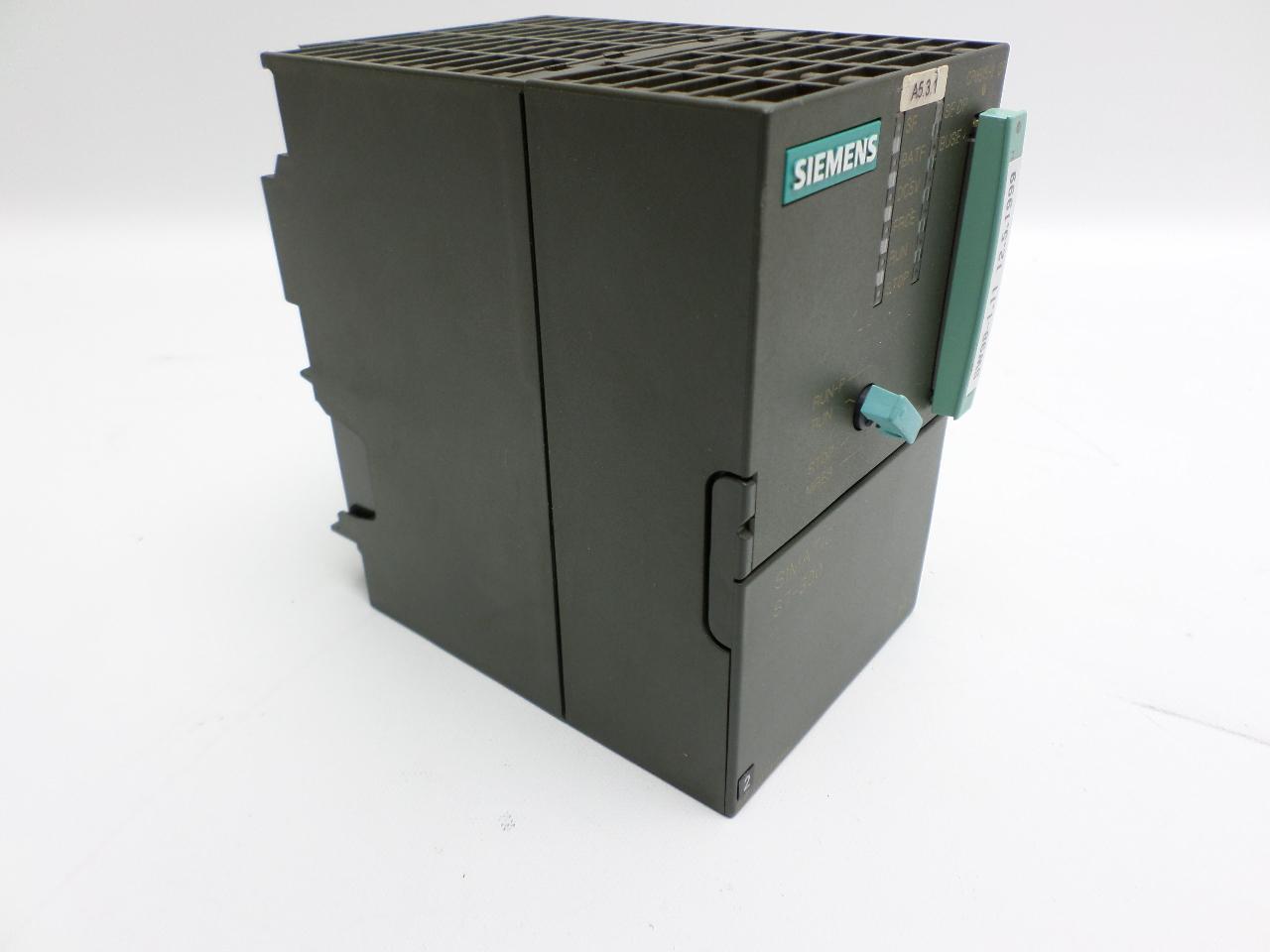 siemen simatic s7 300 6es7 315 2af02 0ab0 with memory card. Black Bedroom Furniture Sets. Home Design Ideas