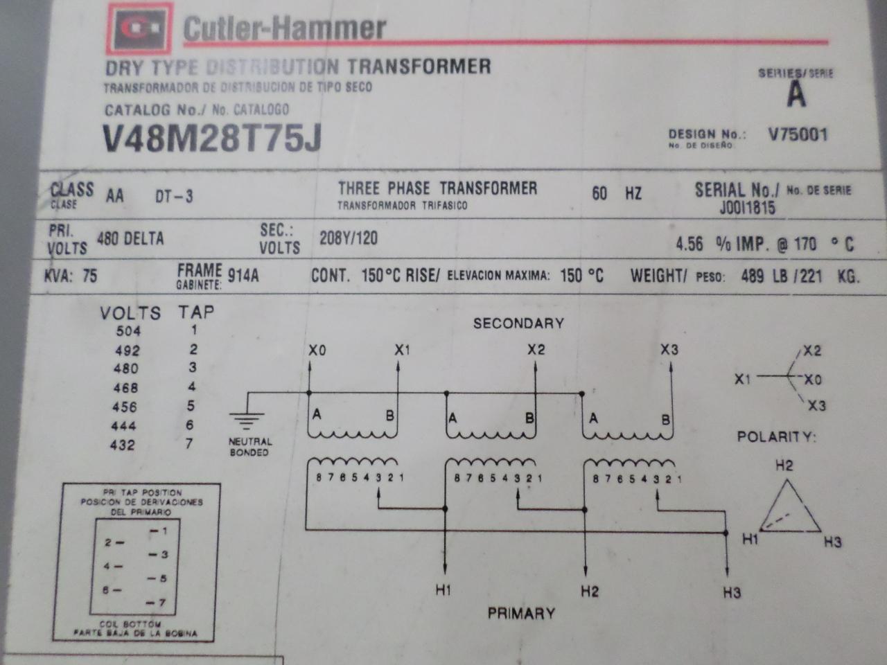 Berühmt 480 Volt Transformator Schaltplan Zeitgenössisch - Der ...