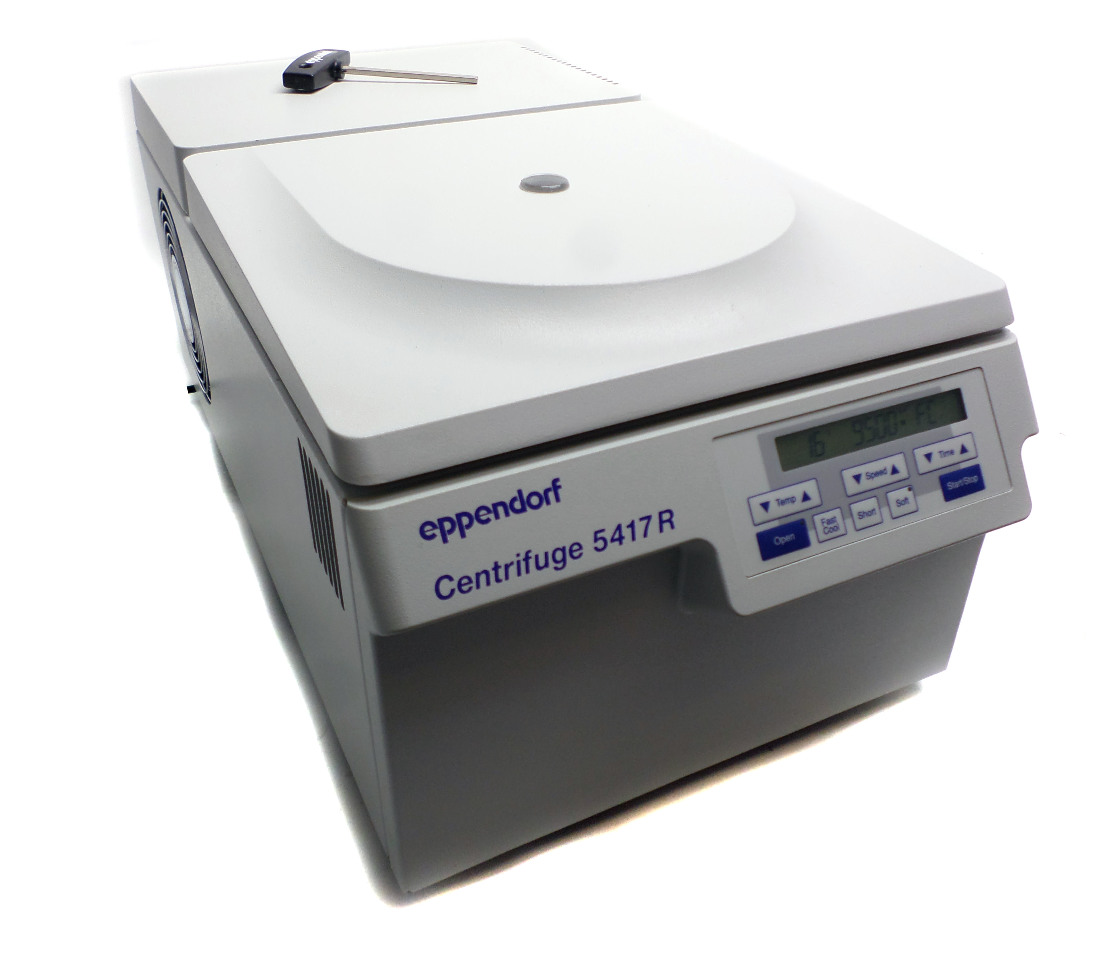 Eppendorf 5417r Refrigerated Centrifuge With F45 30 11