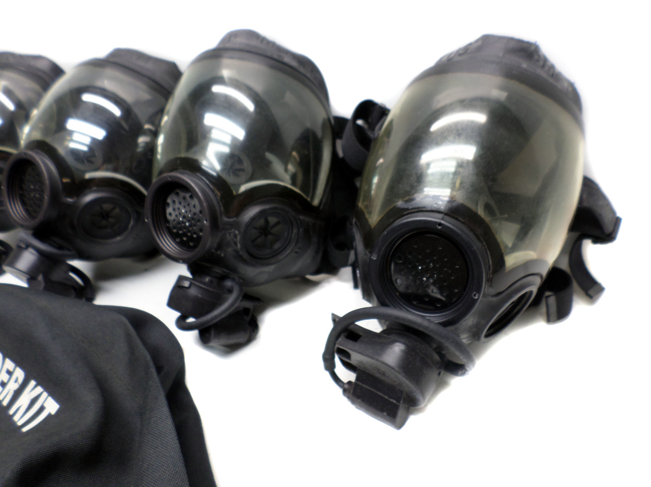4 Msa Millennium Cbrn Respirator Riot Control Gas Mask