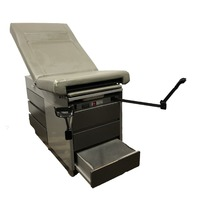 Midmark Ritter 104 Medical Patient  Exam Table  OBGYN Stirrups 100-023 Heated Tray EDU520530191