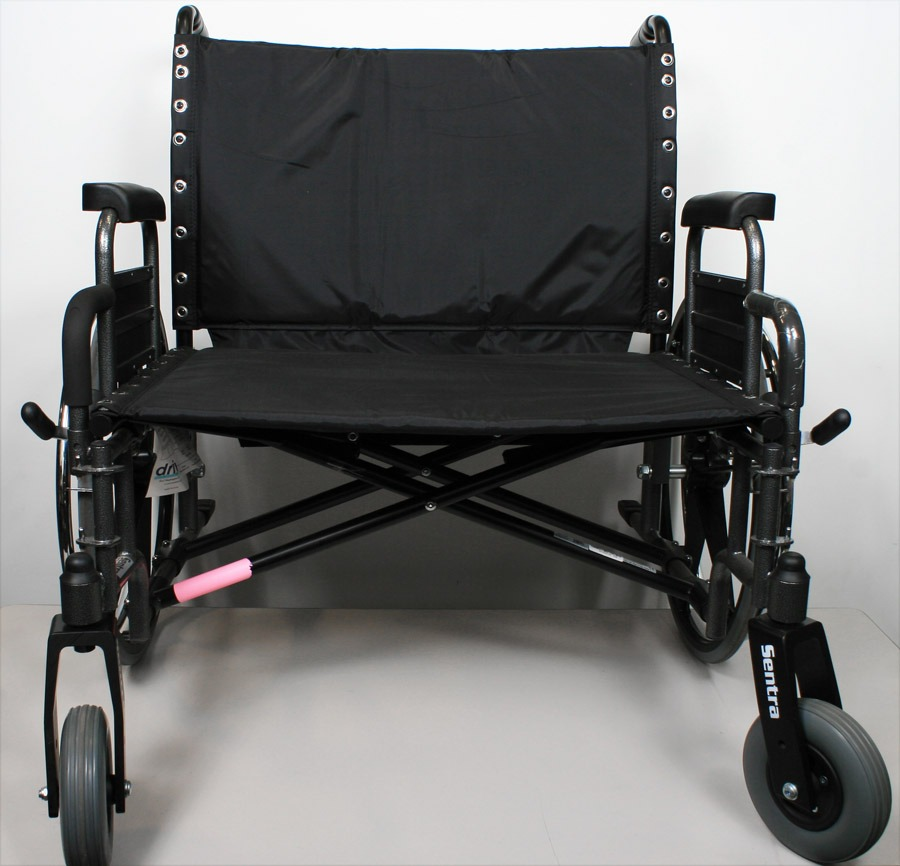Drive Medical STD30DDA Sentra Heavy Duty Wheelchair, Extra Wide