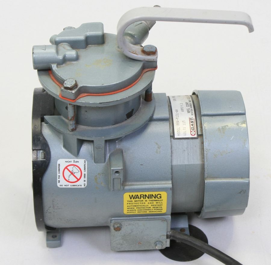 Small Vacuum Gast Pump Oilless Wire Diagram
