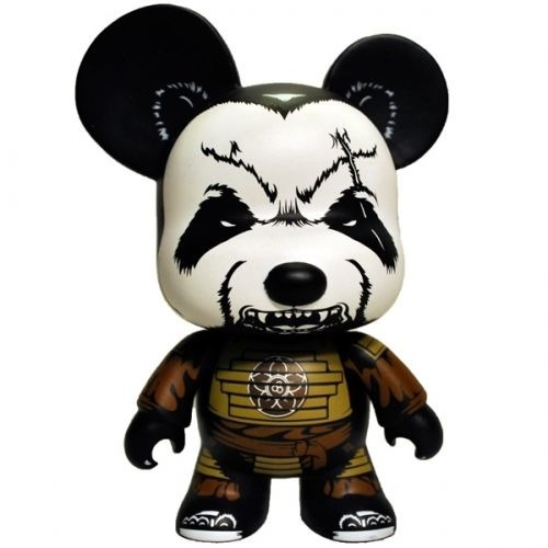 "Pandaimyo Bear 5"" Mini Qee -Mountain Clan Edition- John-Paul Kaiser 1/300"