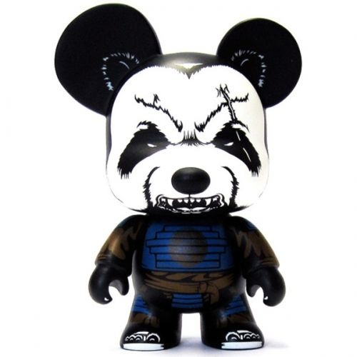 "Pandaimyo Bear 5"" Mini Qee -Royal Guard Edition- John-Paul Kaiser 1/300"