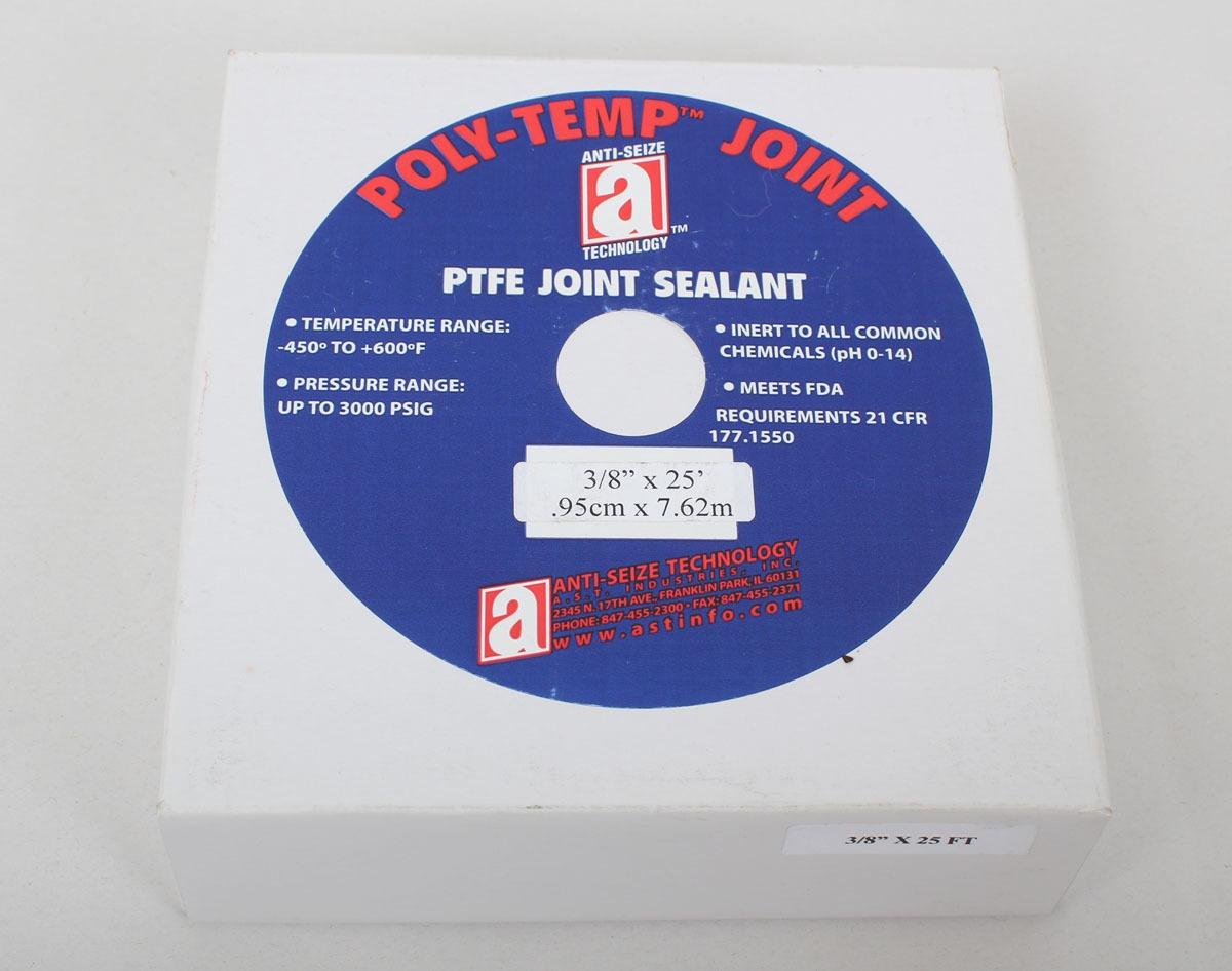 poly temp ptfe joint sealant 3 8 x25 39 28010 socotek llc. Black Bedroom Furniture Sets. Home Design Ideas