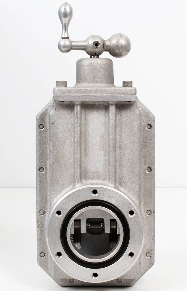 Heavy Duty High Vacuum Manual Aluminum Gate Valve Asa Ansi