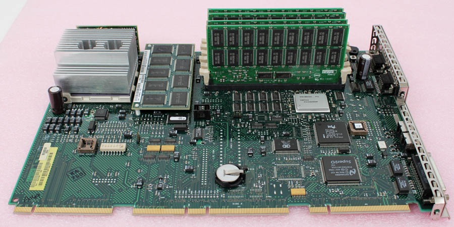 DEC Compaq AlphaStation 54-24767-02 Motherboard + CPU for 500A, 256mb (4x64) RAM