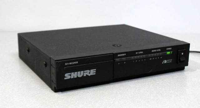 Shure SC4-CK Wireless Microphone Receiver 190.600 MHz