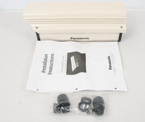 "Panasonic POH1000 10"" Outdoor Aluminum Camera Housing"