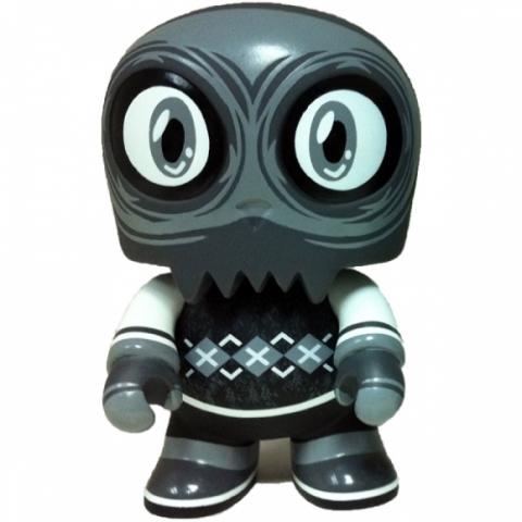 """Uncle Argh 5"""" Toyer Mini Qee -Noir Edition- Scott Tolleson 1/300"""