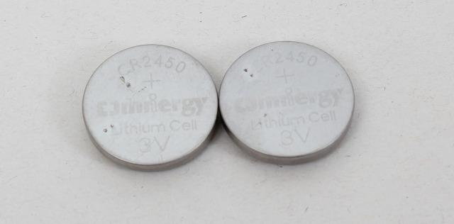 -NEW-  CR2450 3V Omnergy Lithium Coin Cell Battery 2-Pack