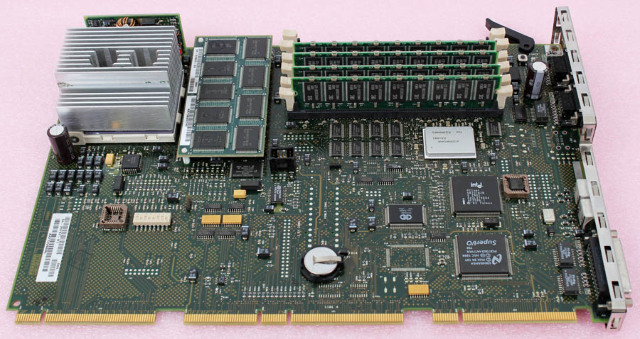 DEC Compaq AlphaStation Motherboard + CPU 54-24767-01 for 433A w/ 128mb RAM
