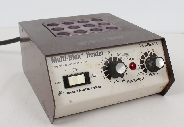 Lab Line Multi-Blok Heater H2025-1A with 12 Slot Heating Block