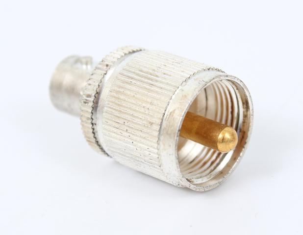 Kings 91836 RF Adapter, UG-273/U, UHF Plug to BNC Jack, 50 ohm