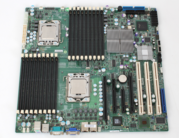 SuperMicro X8DTN+ Motherboard with 2x Xeon E5530 Quad Core Processors