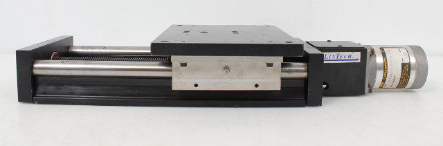 "LinTech 90 Series Twin Rail Linear Stage 6x8"" 90606 w/ Compumotor 57-83 Stepper"