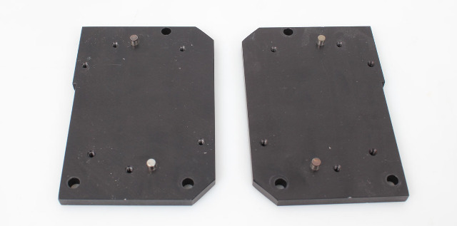 Nicolet  Detector Mounting Plates from Magna IR-850 Spectrometer