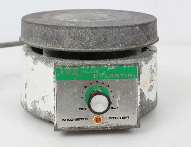 """VWR Dylastir 6"""" Laboratory Magnetic Stirrer 58935-250 -Fully Tested-"""