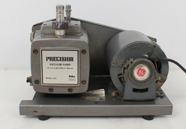 Precision Scientific D25 Belt Drive Rotary Vane Vacuum Pump