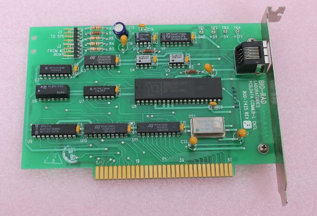 Bio-Rad PCB, Data Comm, B-L CNTL PC Board 800-7425 REV F