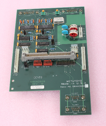 Mitutoyo X-Y Input Board 50AAC669 Rev B 50AAC668A