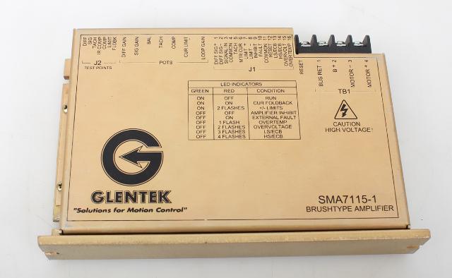 Glentek SMA7115-1 Brushtype Amplifier SMA7115-150-1