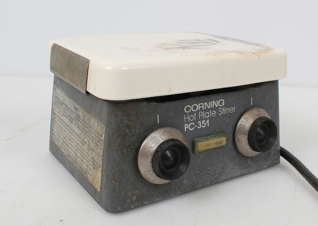 Corning Ceramic Hot Plate Magnetic Stirrer PC-351 -Tested-
