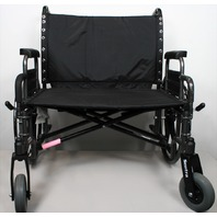 Drive Medical STD30DDA Sentra Heavy Duty Wheelchair, Extra Wide