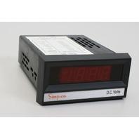 Simpson Digital Panel Instrument model 2865 0-20 VDC