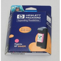 NEW Genuine OEM HP 40 Magenta Inkjet Print Cartridge 51640M