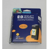 NEW Genuine OEM HP 40 Yellow Inkjet Print Cartridge 51640Y