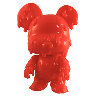 "Melting Bear Toy2R DIY 5"" Mini Qee -Red Edition-"