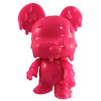 "Melting Bear Toy2R DIY 5"" Mini Qee -Pink Edition-"