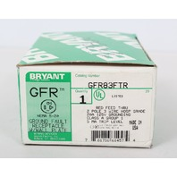 Bryant GFR83FTR Hospital Grade Ground Fault Receptacle 20A