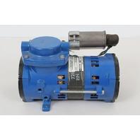 Thomas 107CEF075 844 Compressor/Vacuum Pump, 1/20 HP, 60 Hz, 115V